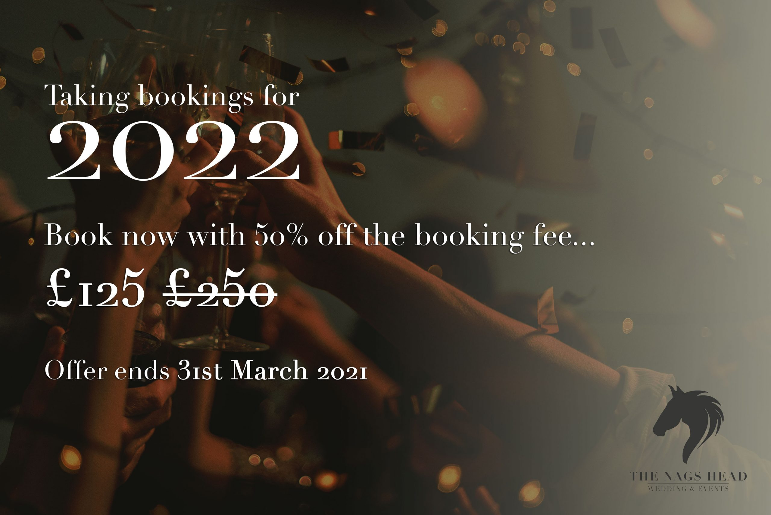 Book now for 2022